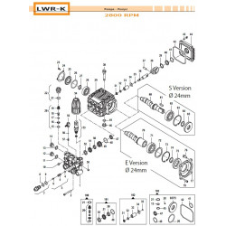 Crankcase Flange  LWR-K...