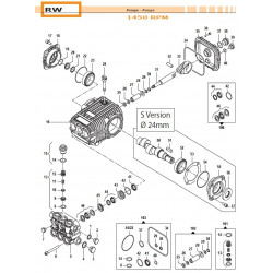 Complete Valve Kit Basse portate - Low Flow RW 50250011 Comet
