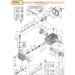 Complete Valve Kit >250 bar - 3600psi TWS 50250021 Comet