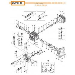 Crankcase Flange  ZWD-K 10040012 Comet