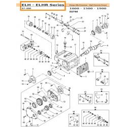 Gear Box Kit   50050255 Comet