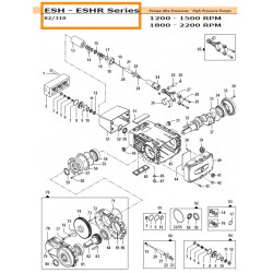 Gear Box Crankcase   30010555 Comet