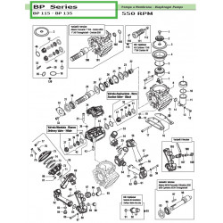 Pump Manifold Cover Nero /...