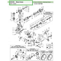 Complete Left Tap  IDS 1000 12140016 Comet
