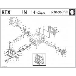 Piston  3660081 RTX Annovi...