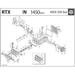Sealing system  2820400 RTX...