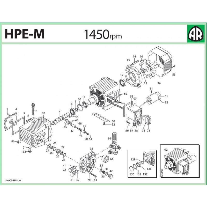 Zawór regulacyjny Mini Matic 4/B 20821 HPE-M Annovi Reverberi