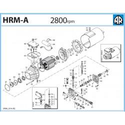 2Prowadnica tłoka pompy Annovi Reverberi HRM-M/O/A