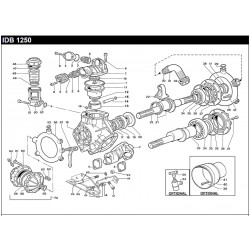VALVE COVER PUMP IDB 1250...