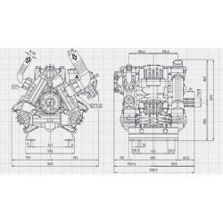 Pump UDOR ZETA 120 TS 1C