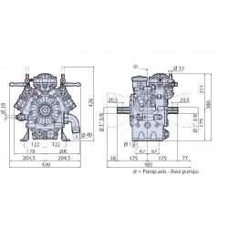 AR 1203 Annovi Reverberi pump