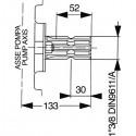 Piston membrane pump Comet BP 125K