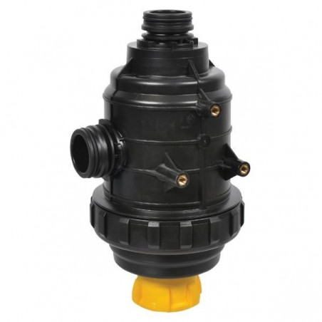 Suction filter 160-220 l/min T6 with valve, ARAG