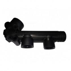 "Zeta 85, 100 3/4""F 1""M UDOR pump manifold pipe"