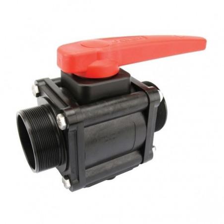 "2-way ball valves 2 1/2""M 453, ARAG"