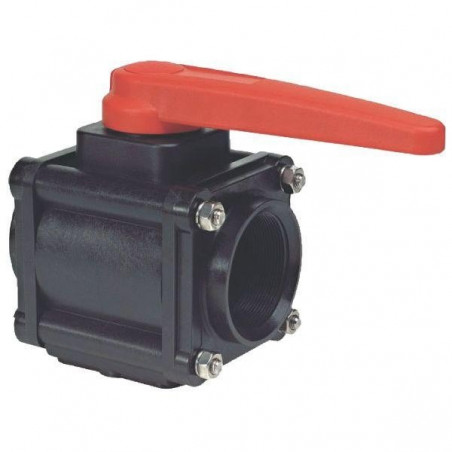 "2-way ball valves 1""F 453, ARAG"