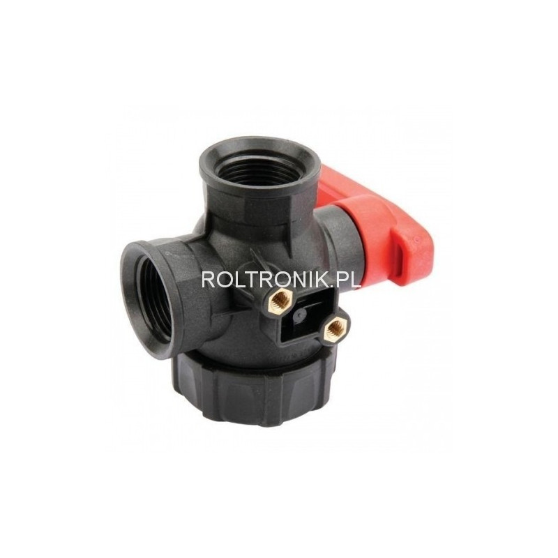 3-way ball valve 1″, ARAG