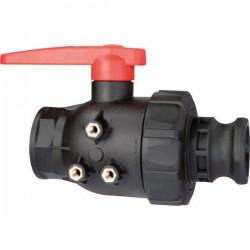 "2-way ball valves 2""M - Camlock, ARAG"