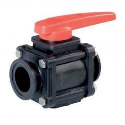 """2-way ball valves 2""""(Std.) - Clamp coupling 453, ARAG"""
