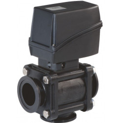 3-way ball electric valve lower clamp coupling, AISI 316, ARAG