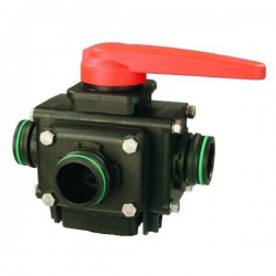 4-way ball valve T4 453, ARAG