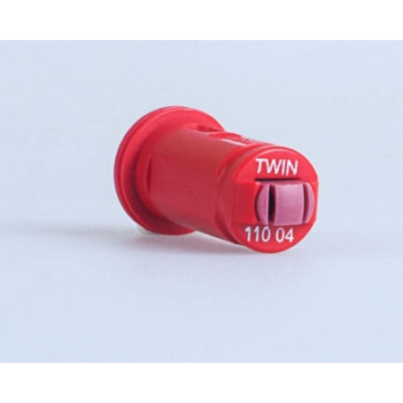 Air induction Twin flat spray nozzle AVI TWIN ALBUZ
