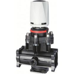 Manualny zawór regulacyjny membranowy max.ciśnienia 463/T5F