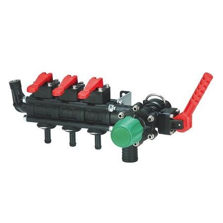 Rozdzielacz stałociśnieniowy 2-5-sekcji 120-180l/min ARAG