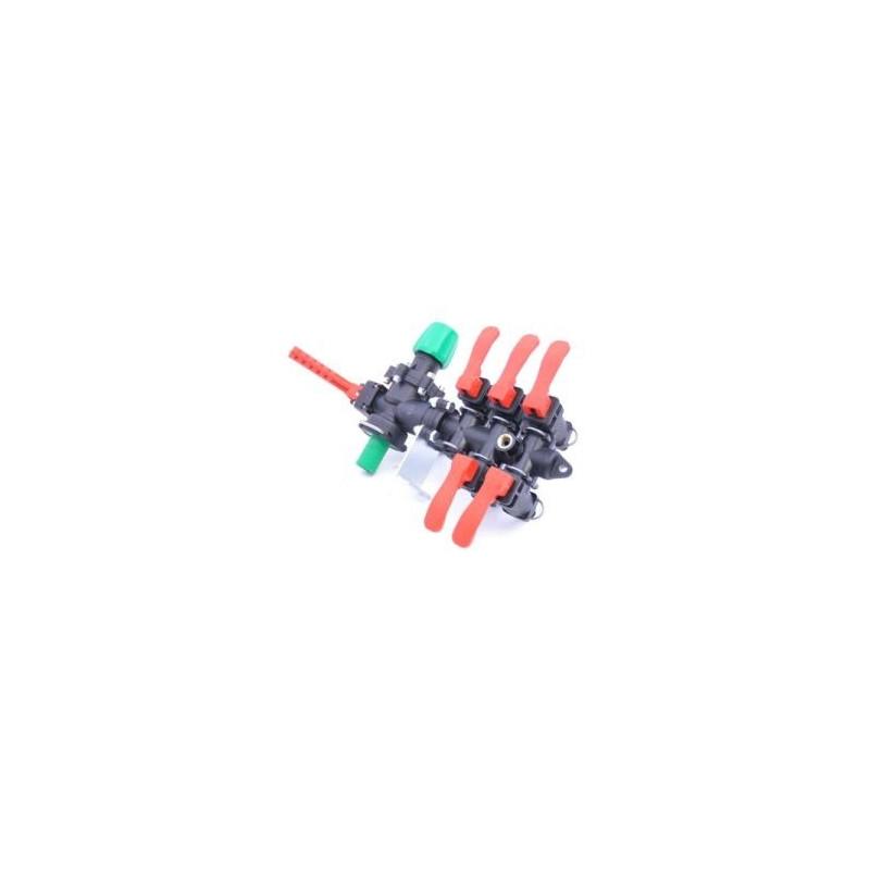 Rozdzielacz stałociśnieniowy 2-sekcje 100l/min ARAG