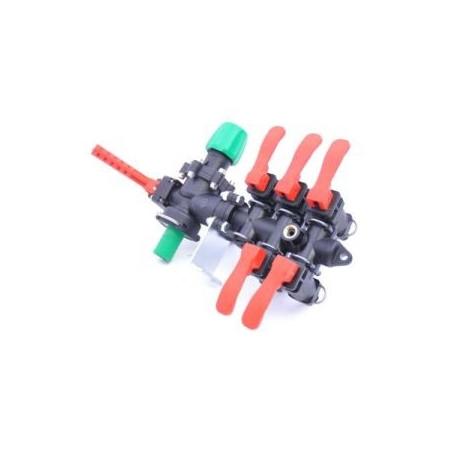 Rozdzielacz stałociśnieniowy 5-sekcji 160l/min ARAG
