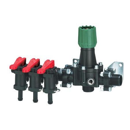 Rozdzielacz manualny stałociśnieniowy 2-3 sekcje 100-120l/min ARAG