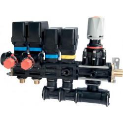 Rozdzielacz elektryczny sadowniczy 2-4 sekcje 20-40bar ARAG - do panelu sterującego