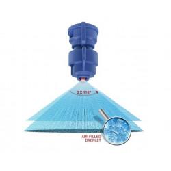 2Rozpylacz eżektorowy dwustrumieniowy asymetryczny TurboDrop HiSpeed AGROTOP 110 04