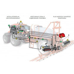 2Komputer Bravo 180s ARAG - wersja polowa z hydrauliką