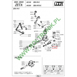 Stopa pompy Udor Zeta 70