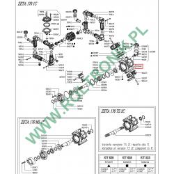 Korpus pompy Zeta 170 1C Udor