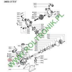 Crankcase Udor Omega 135/139