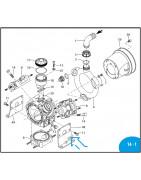 Pump parts for Annovi Reverberi AR125/ AR145