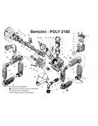 Części do Bertolini Poly 2180