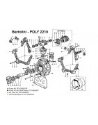Parts for Bertolini Poly 2210