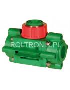Sensors, flow meters, manometers for the sprayer