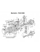 Części do Bertolini PAS908