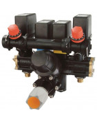 Orchard sprayer electric equipment, orchard electric valves, orchard valve units